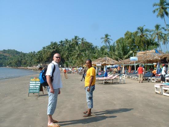 Nizmar Resort: Rock & me on Coco beach