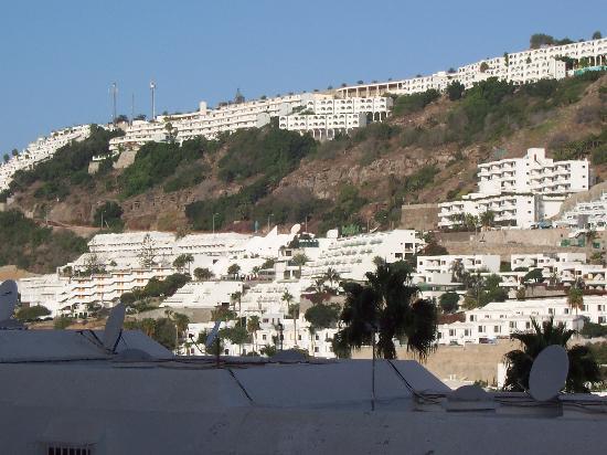 Carlota Apartments : view from balcony