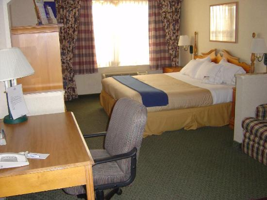 Holiday Inn Express & Suites Dallas-Addison: Bed
