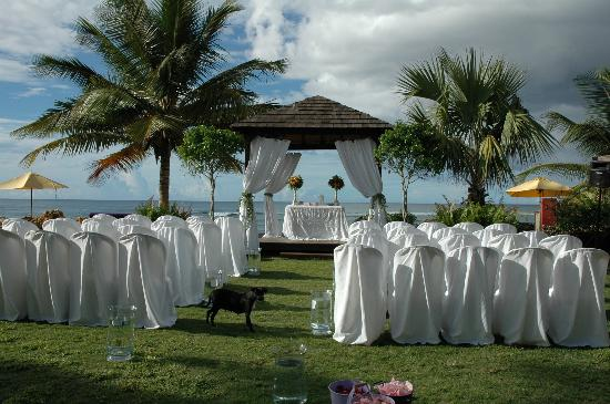 Villa Montana Beach Resort Set Up Before The Wedding