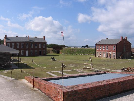 Fernandina Beach, Floryda: Ft Clinch Interior