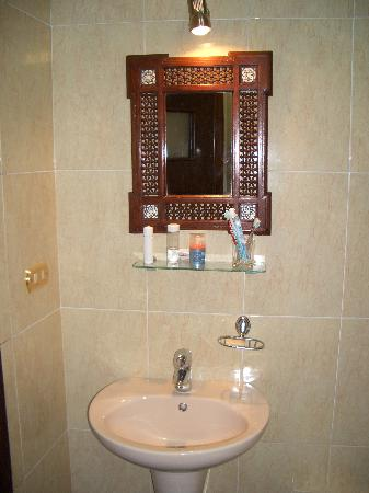 El Nakhil Hotel & Restaurant: Bathroom