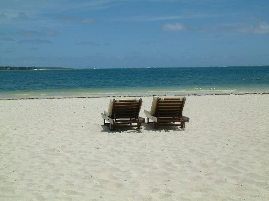 One&Only Le Saint Geran: The stunning beach