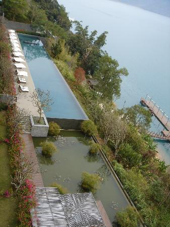 The Lalu Sun Moon Lake: beautiful swimming pool