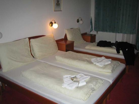 Hotel U Solne Brany: Habitación triple aunque pedimos doble