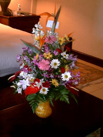 Sandals Royal Plantation: Welcome Bouquet