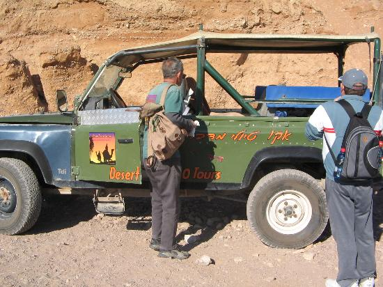 Red Canyon : The Land Rover