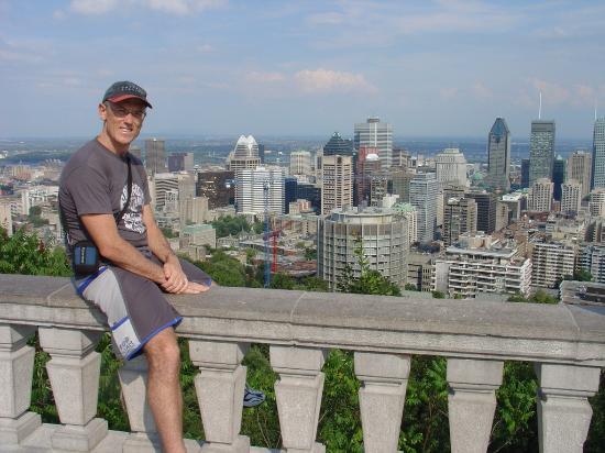 Ken, overlooking Montreal