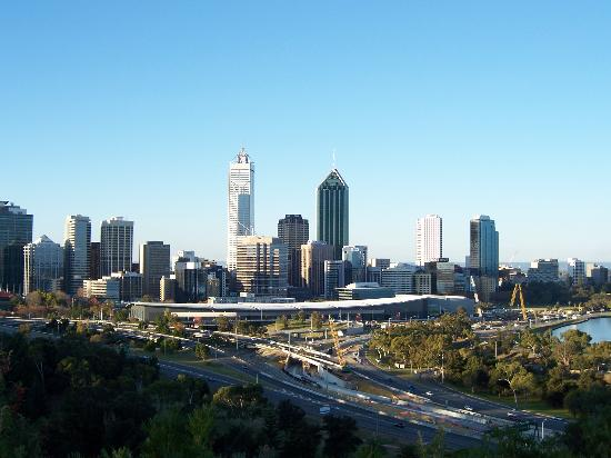 Perth, Australia: View from kings park