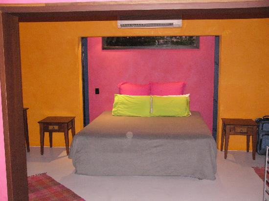Bedroom, villa 10 Pink Flamingo