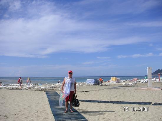 Aroma: On a beach