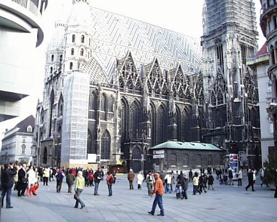 Hotel de France: St. Stephen's Cathedral in Vienna