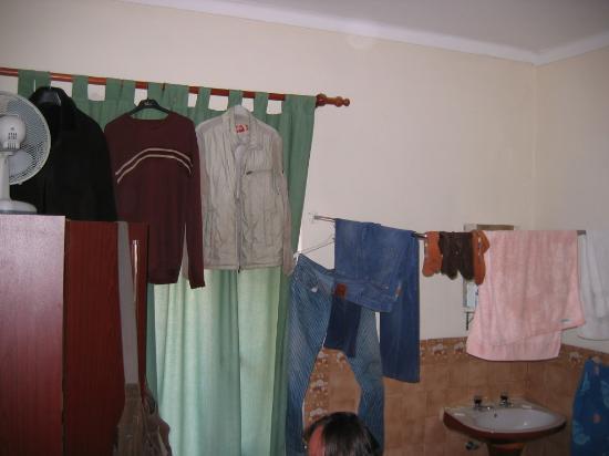 Pensao Residencial Camoes : les vêtements sèchent dans la chambre froide !!