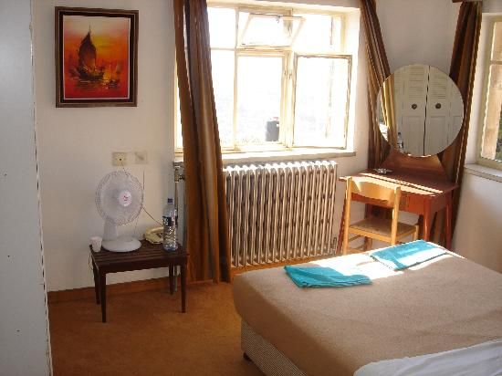 Mount of Olives Hotel: This is room 220 overlooking the Old City of Jerusalem