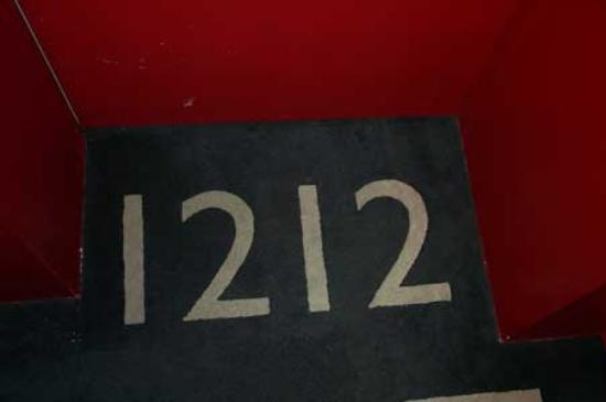 W Mexico City: Room Numbers in Scuplted Carpet