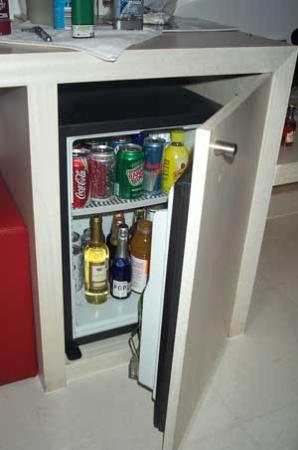 W Mexico City: Integrated Minibar