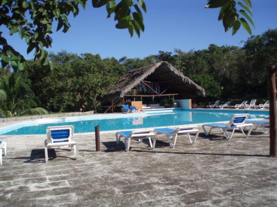 Hotel Villa El Yarey : Pool with swim-up bar