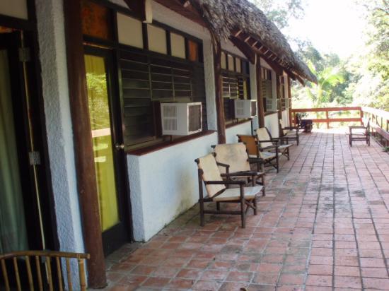 Hotel Villa El Yarey : Patio