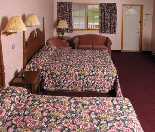 Cheticamp, Canada: Room