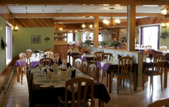 Cheticamp, Canadá: Restaurant