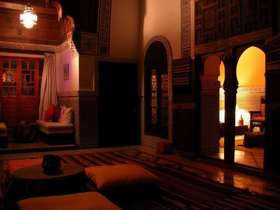 Ryad El Borj: The royal suite.