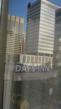 Days Inn Baltimore Inner Harbor: same view different angle
