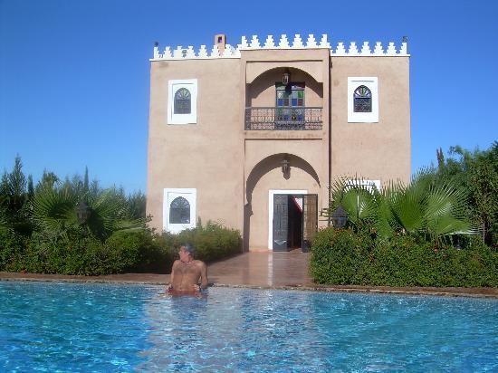 Dar Ilham: Un baño en pleno Diciembre