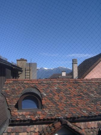 Ambiente Hotel Freieck: view from our bathroom