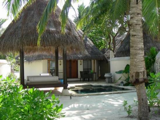 Four Seasons Resort Maldives at Kuda Huraa: Your Private Courtyard