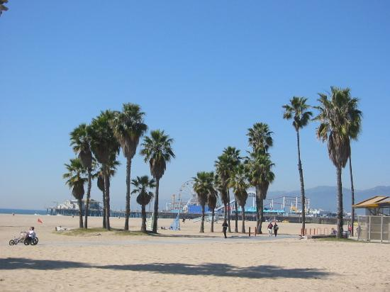Santa Monica, Kalifornie: just as in the movies!