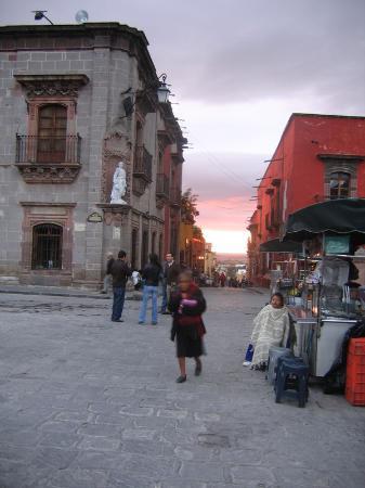 San Miguel de Allende, Mexique : The Museum can be seen on the left.