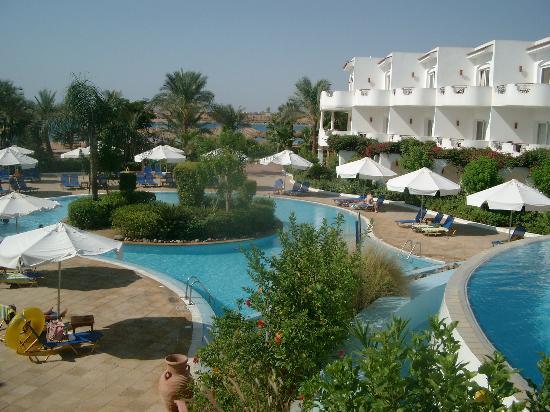 Iberotel Palace: piscine en 2 parties