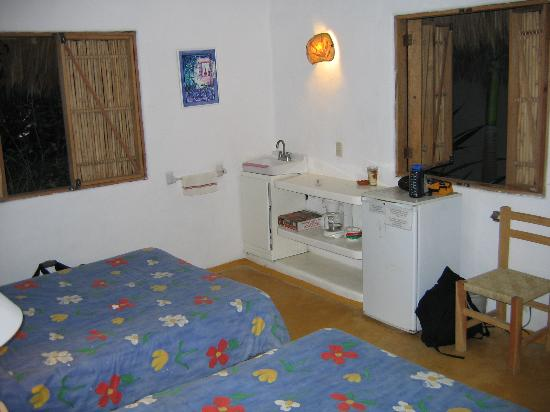 Junto al Rio Beachfront Bungalows and Suites: Room with a view of the