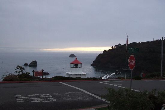 Trinidad Bay Bed & Breakfast Hotel: the view
