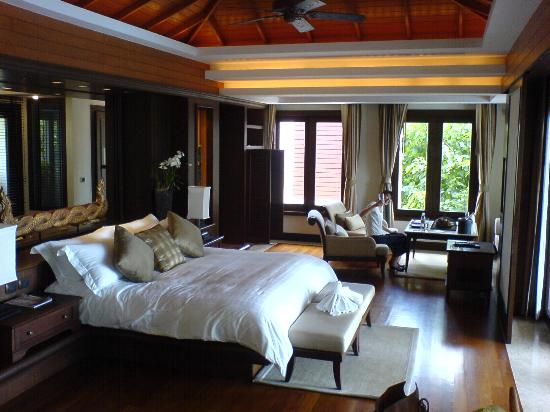 Trisara Phuket: View of room from the writing desk
