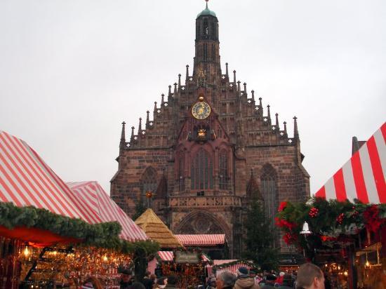 Hotel Burgschmiet: Christmas Market in Nurnberg 2