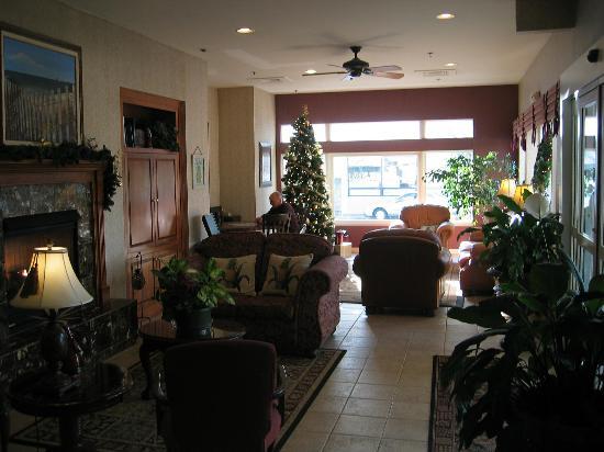 Avenue Inn & Spa: Lobby sitting area