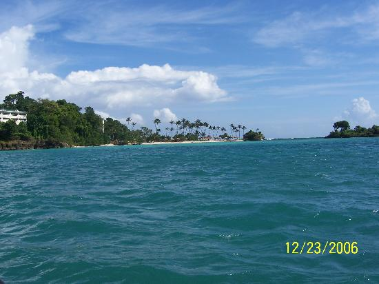 Luxury Bahia Principe Cayo Levantado Don Pablo Collection: Cayo Levantado from the water