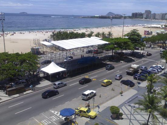 Tulip Inn Rio Copacabana: Great View from window