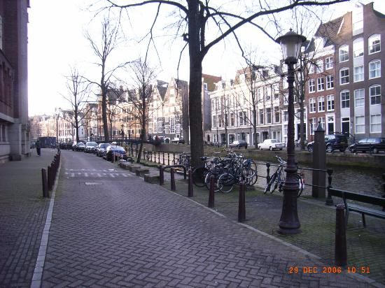 Sofitel Legend The Grand Amsterdam: road and canal outside hotel