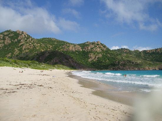 Grand Saline Beach Looking East Picture Of Anse De Grande Saline St Barthelemy Tripadvisor