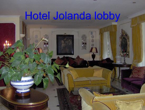 Hotel Jolanda : Hotel lobby