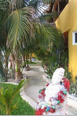 Villa La Bella: Front entrance to Villa Las Brisas
