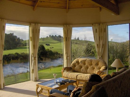 Appledore Lodge: cottage with view