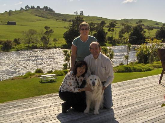 Appledore Lodge: misty and us