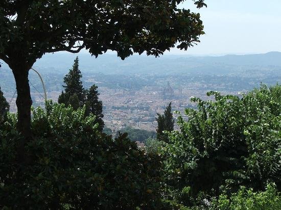 Hotel Rex: View from Fiesole - it's worth the bus ride