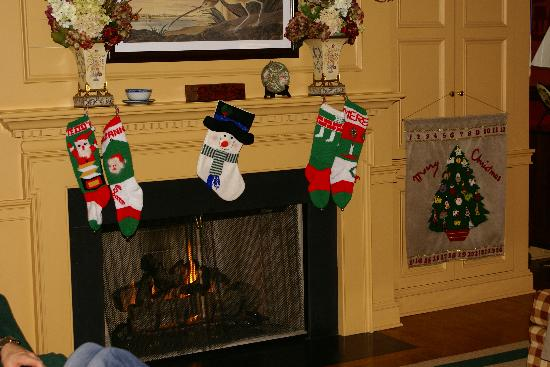 The Greenbrier: Stockings Hung with Care in Copeland Hill Cottage