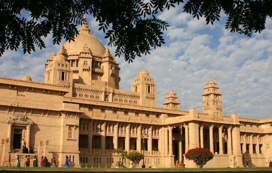 Umaid Bhawan Palace Jodhpur: Umaid Bhawan - Exterior