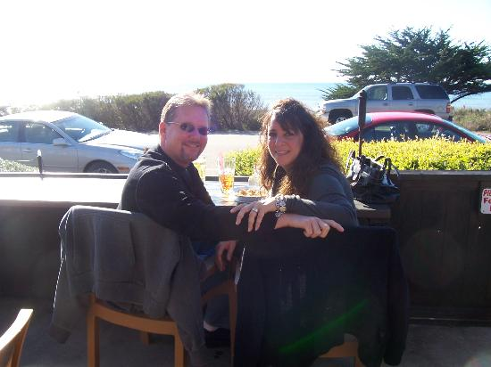 Cayucos, كاليفورنيا: Ocean View Dining At Moonstone Beach In Cambria