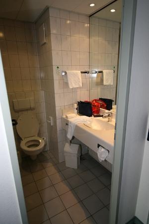 Atlantic Hotel Vegesack: The bathroom